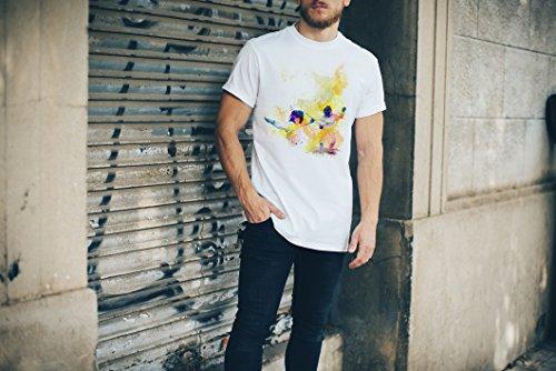 Fechten III Herren T-Shirt Sport Motiv aus Paul Sinus Aquarell