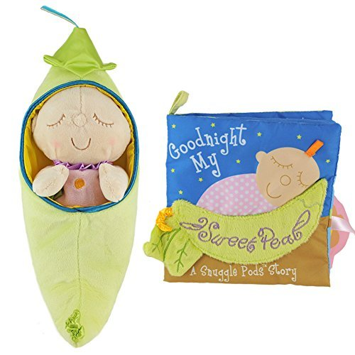 The Manhattan Toy Company Sweet Pea Book & Sweet Pea Multi Color Unisex Kids Activity Book & Sweet Pea