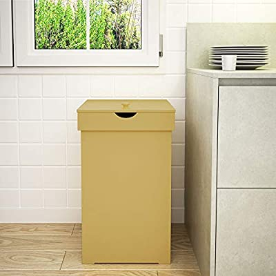 Function Home Kitchen Trash Can Country Cottagetrashcan Wood Trash Bin Country Style Garbage Can Wooden Trash Can In Home Recycling Bins 13 Gallon Outdoor Trash Cans Recycle Bin In Yellow Amazon Sg