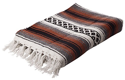 Deluxe Mexican Blankets (Terra Cotta) by EPSB