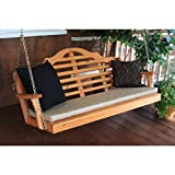 A & L FURNITURE CO. Western Red Cedar 4′ Marlboro Swing Review