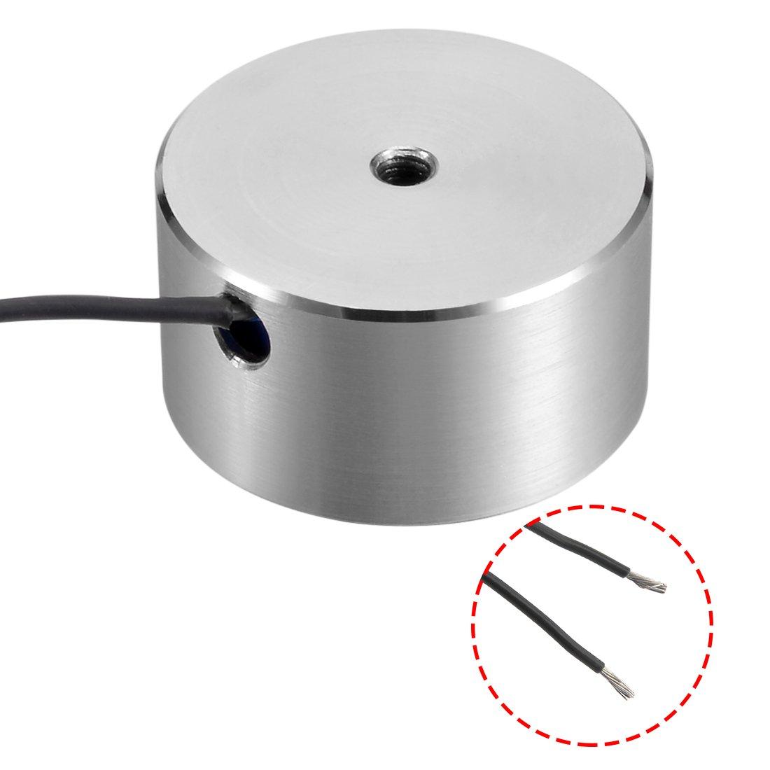 sourcing map Electromagneto de retenci/ón de solenoide de Disco de succi/ón 59mm x 34mm DC12V 700N