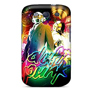 High Grade Nillesny Flexible Tpu Case For Galaxy S3 - Daft Punk
