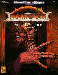 Veiled Alliance (AD&D/Dark Sun Accessory DSR3) (DSR3, Advanced Dungeons & Dragons, 2nd Edition, 2411)