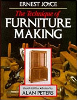 Image result for The Technique of Furniture Making Hardcover– 30 Apr 1987 by Ernest Joyce (Author), Alan Peters (Editor)