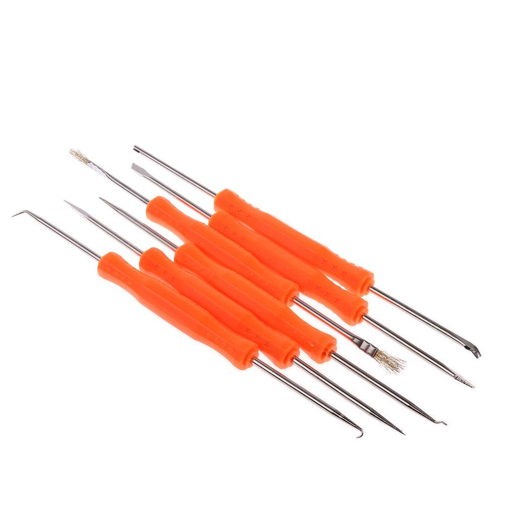 Homyl 60W Kit de Herramienta de Soldadura Eléctrica de Temperatura Ajustable - Enchufe UE: Amazon.es: Bricolaje y herramientas
