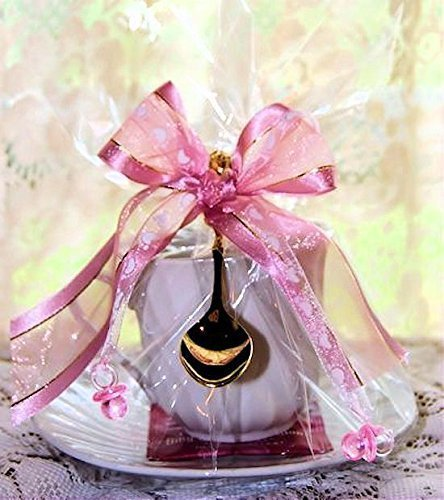 Amazoncom Set Of 4 Tea Theme Baby Girl Tea Cup Teacup Baby