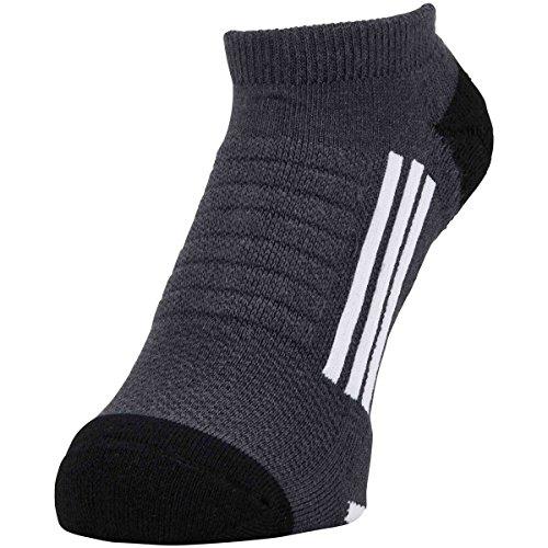 アディダス Adidas 靴下 クーリング アンクルソックス チャコールグレー フリー