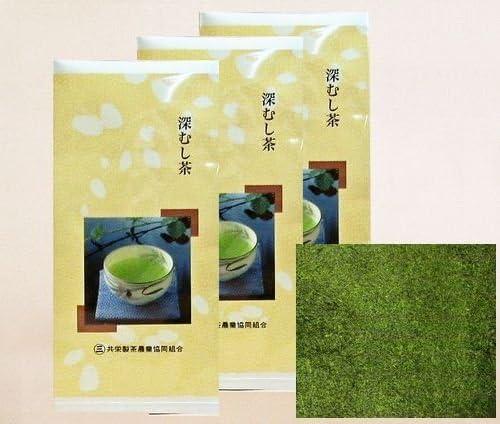 静岡茶 深蒸し茶 「粉茶」 100g袋 お得3袋セット300g入り メール便