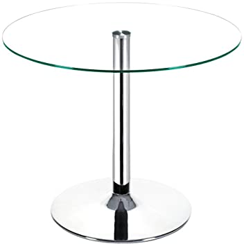 Zuo Galaxy Dining Table, Chrome
