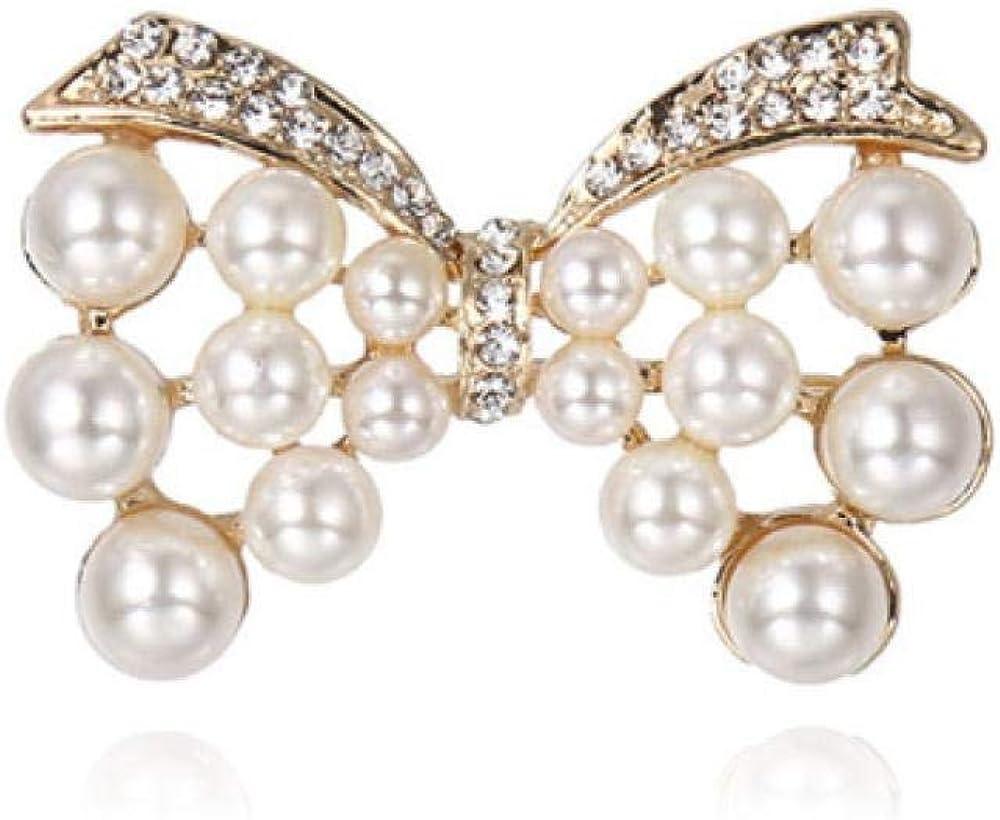 Spilla Fiocco Donna Accessori Per L'Abbigliamento Diamante ...