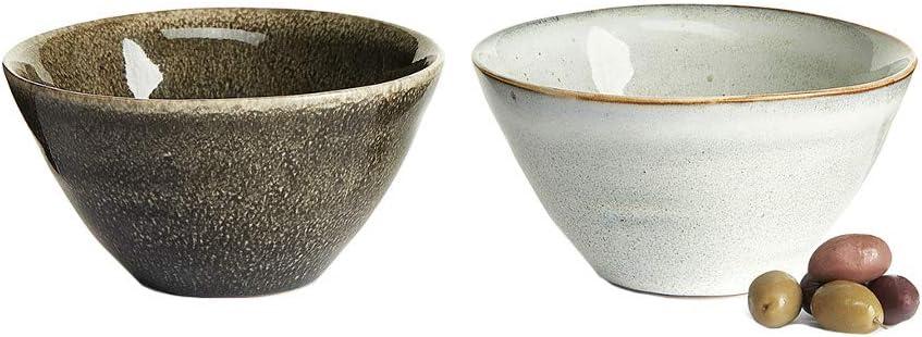 Sagaform Servierschale 19 x 6 cm Keramik