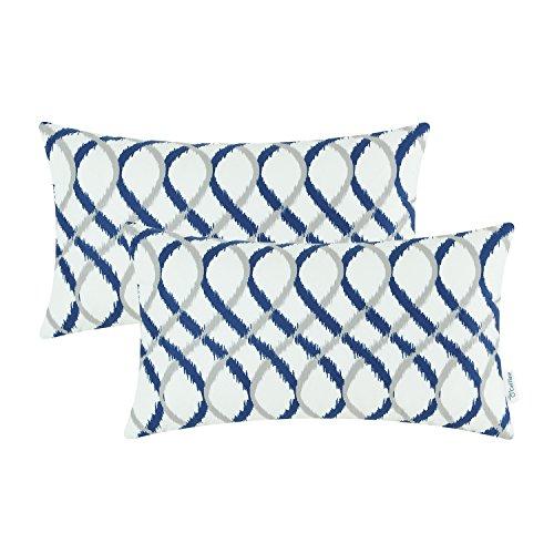 Navy Bolster Pillow - 7