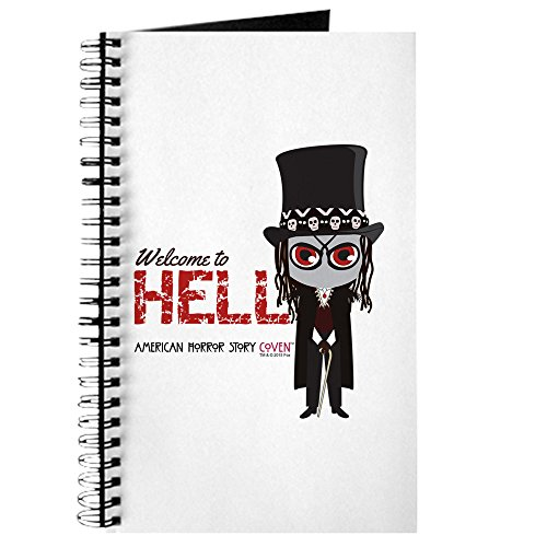 CafePress American Horror Story Chibi Papa Legba Spiral Bound Journal Notebook, Personal Diary, Blank -