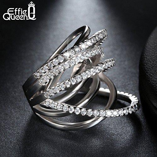 Slyq Jewelry Design Jewelry Shiny CZ Vintage Luxury Women cz engagement ring