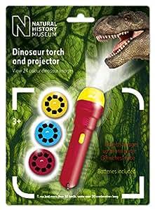 Natural History Museum The Linterna con proyector de imágenes de dinosaurios