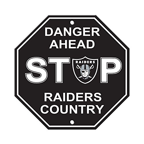 Fremont Die NFL Oakland Raiders Stop Sign