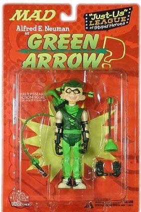 Mad Alfres E. Neuman As Green Arrow Figure