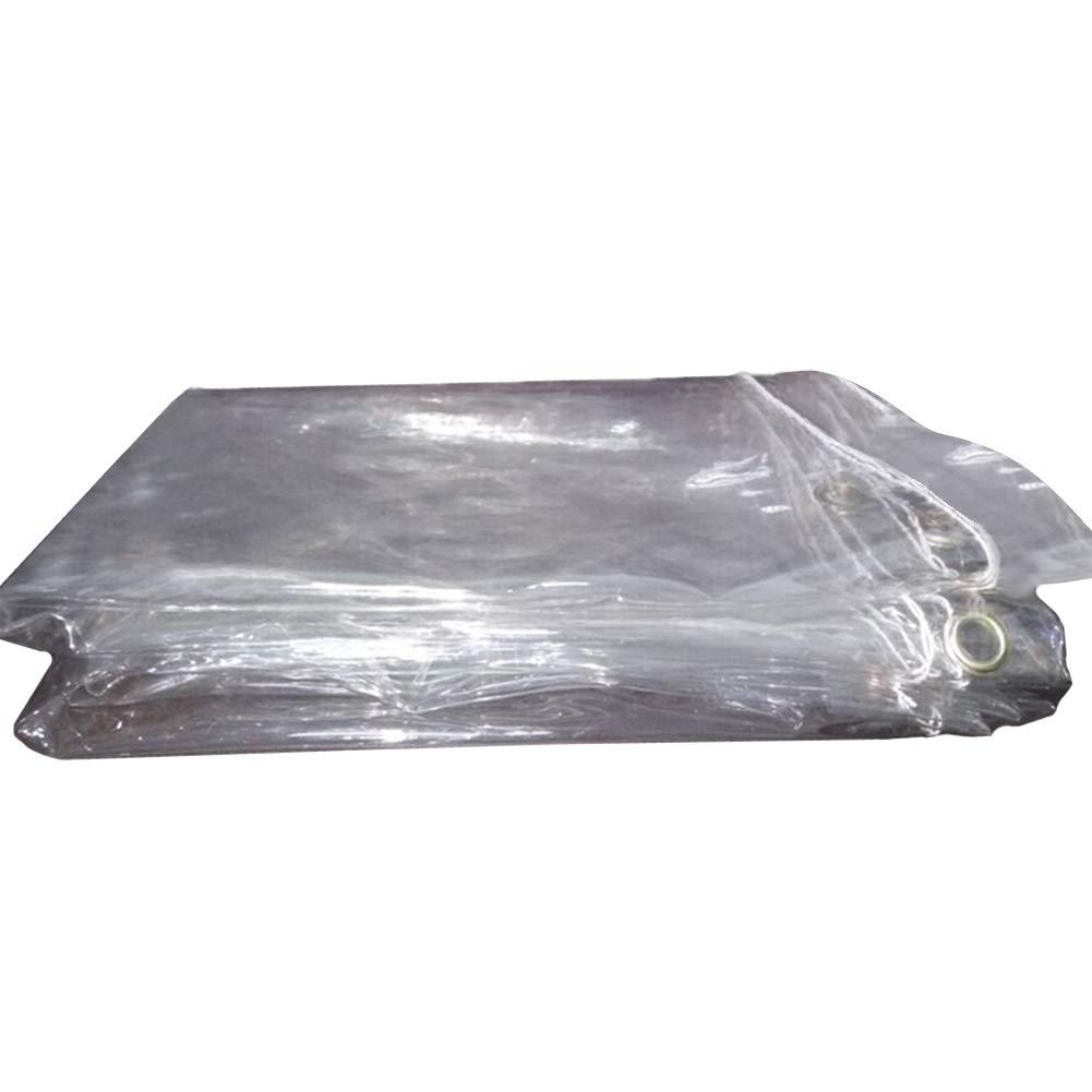 WXF telone Rivestimento in Plastica per PVC Impermeabile E Antipioggia per Balconi Impermeabile Resistente di 0,5 Mm 600 G M² (Dimensioni   1.1x1.6m)