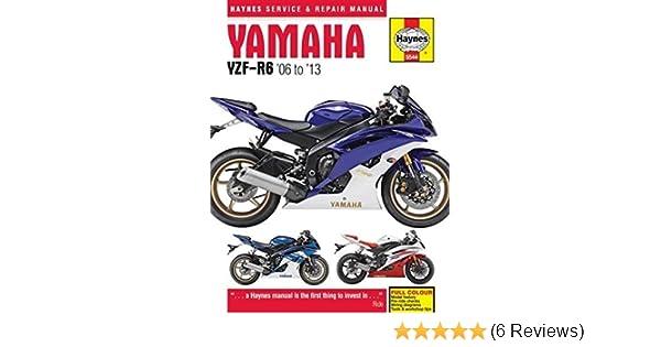 Yamaha yzf r6 06 13 haynes powersport haynes publishing yamaha yzf r6 06 13 haynes powersport haynes publishing 9780857335449 amazon books fandeluxe Images