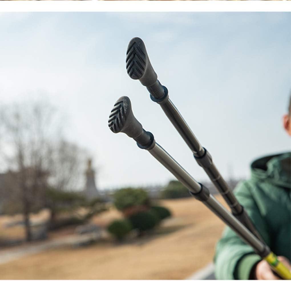 Egurs Puntas de Goma para Bastones 6 unid Protectores de Puntas de Bastones Universales de Trekking