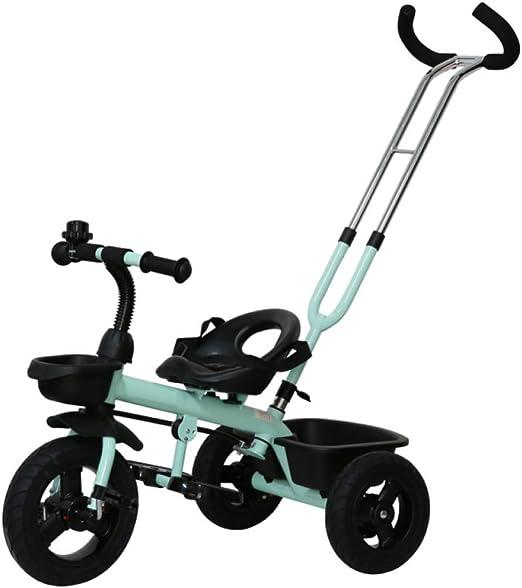 GIFT Carro De Bebé De Uso Dual con 3 Ruedas Triciclo De Bebé ...