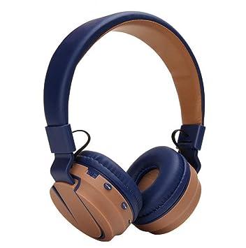 XIYANG Auriculares, Auriculares inalámbricos Bluetooth Sobre el oído, Tarjeta TF de Soporte, Radio