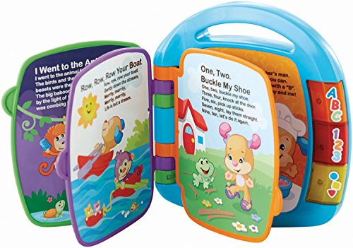 511MN1Ez84L - Fisher-Price Laugh & Learn Storybook Rhymes Book