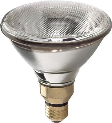 GE Lighting 73544 Energy-Efficient Halogen 60-Watt (90-watt replacement) 1260-Lumen PAR38 Floodlight Bulb with Medium Base, 1-Pack