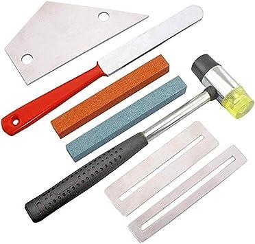 Werkzeug Gitarre Bundfeile Fret File Gitarrenteile Silber NEU