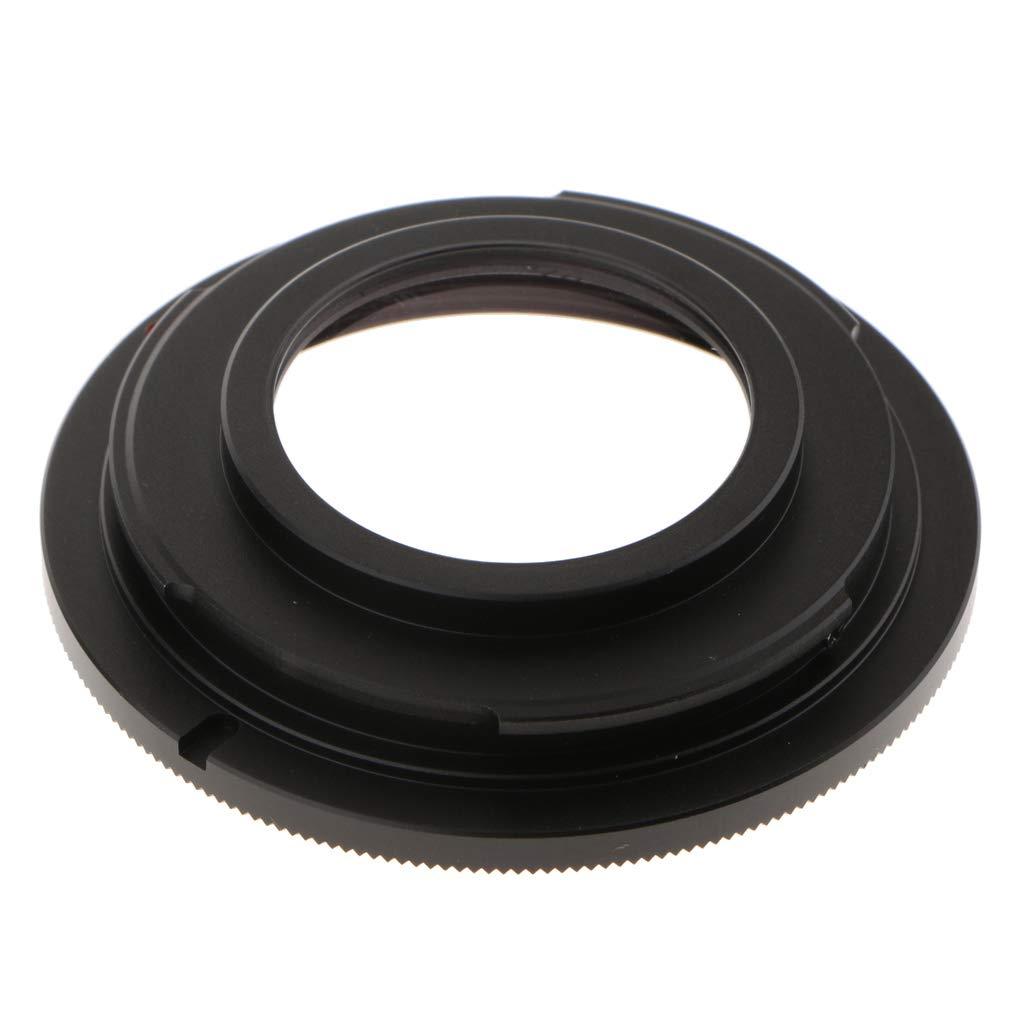 Baoblaze Alluminio Anello Adattatore Obiettivo M42 Vite Lente A AI F per Nikon DSLR D750 D610 D5600 D7000 D7200 D800 con Vetro Ottico Infinity Focus