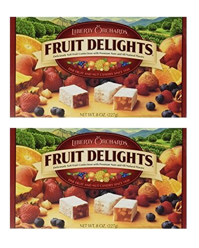 Liberty Orchards Fruit Delights 8 oz. x 2 ( 2 pack)