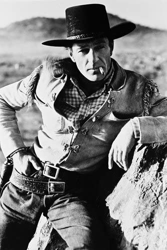 Gary Cooper 24X36 B&W Poster Early Western By Rock