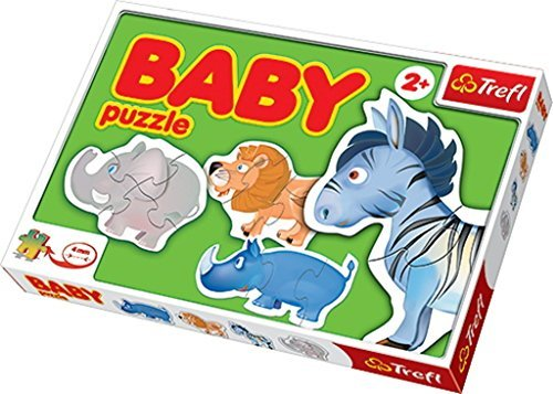 Trefl Baby Puzzle African Animals by Trefl