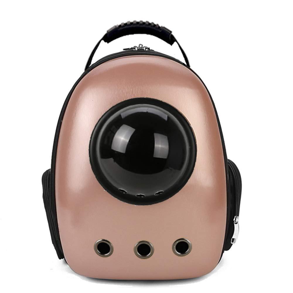 E 30X27X42cmPet Backpack Space Bag Outgoing Carrying Case Chest Shoulder Bags Handbag Dog Bags Cat Cage (color   J, Size   30X27X42cm)