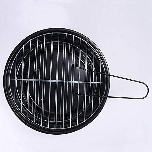 LEILEI Grill santé en Acier,Pied arrière réglable,Barbecue Pliable Portable au Charbon de Bois,pour Table de Camping en Plein air Barbecue de Jardin Barbecue ustensile