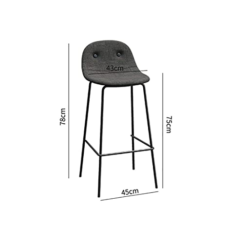 Super Amazon Com Xiaoping Bar Stool Wrought Iron Stool Gamerscity Chair Design For Home Gamerscityorg