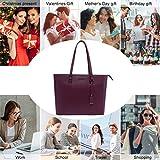 UMODA Laptop Bag for Women,Multi Pocket Work