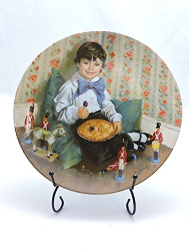Little Jack Horner Collectible Plate by John McClelland by Reco