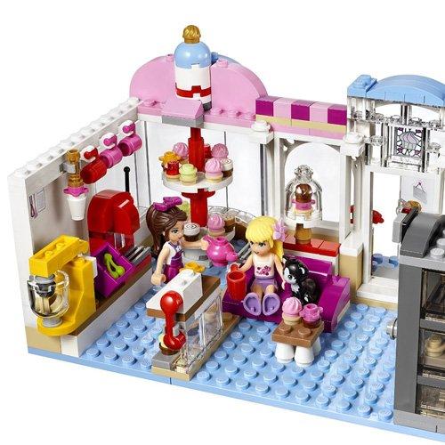 Lego friends cafeter a cupcake de olivia juguete creativo de construcci n con detalles para - Casa de olivia lego friends el corte ingles ...
