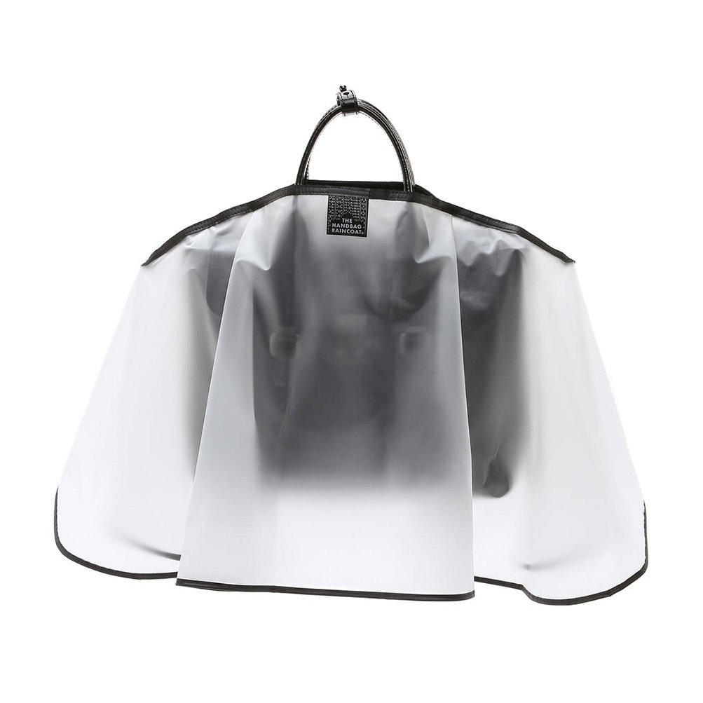 The Handbag Raincoat - Clear Maxi Large
