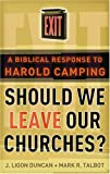 Should We Leave Our Churches, J. Ligon Duncan and Mark R. Talbot, 0875527884