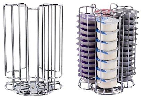 52drehbar T-Disc Halter Rack für Bosch Tassimo Kaffeemaschine Kapsel Pods (52Pod Tower Spender)