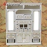 Dollhouses 1/12 scale miniature furniture handmade gilt Main cabinet
