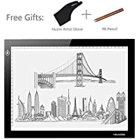 Huion L4S 17.7 Ultra Thin 5mm LED Light Box Pad Tracing Board Table for Drawing Stencil Tattoo