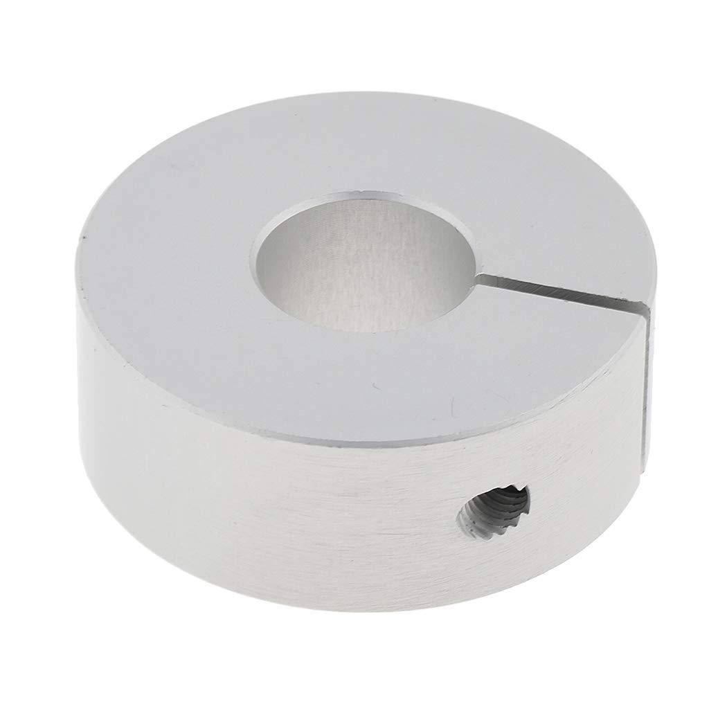 Drill Bit Shaft Depth Stop 10//13//16//22//28mm 13mm Silver F Fityle Aluminum Split Ring Stop Collar