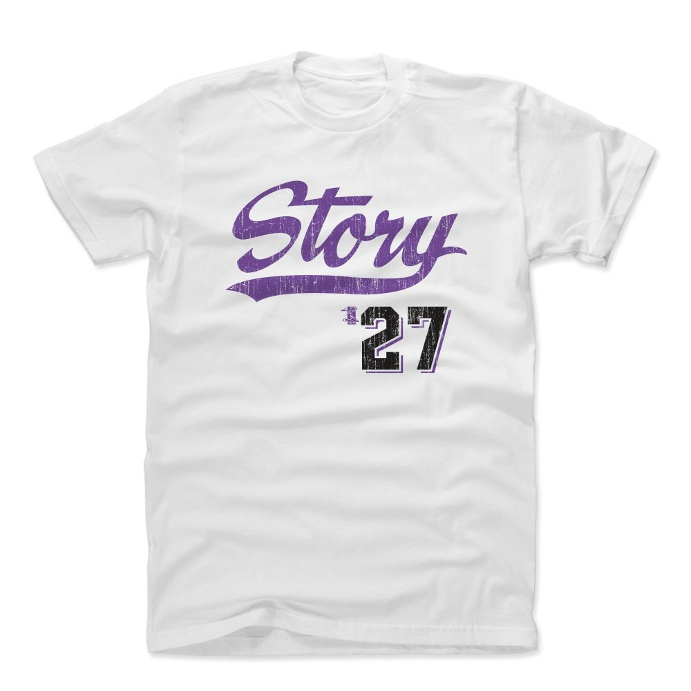 trevor story shirt colorado baseball apparel trevor story