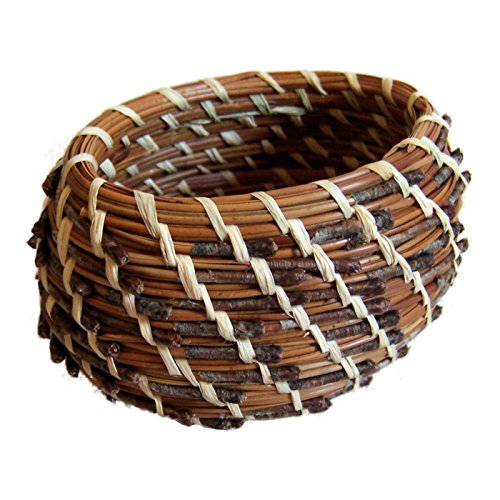Quick Start Pine Needle Basket Kit - Oval Style (Basket Kits Needle Pine)