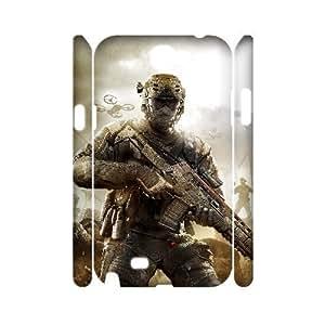 huyny diy C-EUR Call Of Duty Customized Hard 3D Case For Samsung Galaxy Note 2 N7100