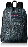 JanSport Superbreak Backpack - Aqua Dash Scribbled Ink фото